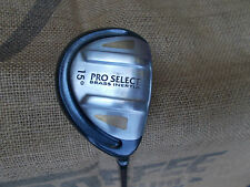 PRO SELECT Brass Inertia 15* Fairway Wood ⛳ Microlite 59g Tour Matched Graphite