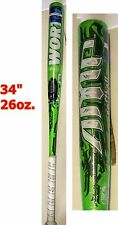 "*NEW* Worth AMP slow pitch Softball Baseball Bat - 34"" 26oz SBAMP5 (ASA/USSSA)"