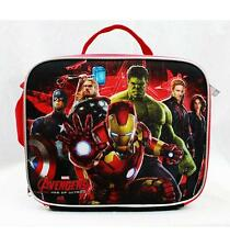 NWT Avengers Insulated Lunch Box Bag Newest Style Ironman, Hulk, Thor, America