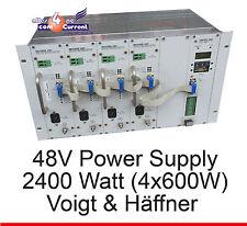 2400W 48V 48 VOLT STROMVERSORGUNG VOIGT UND HAEFFNER OK