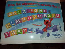Elmo Airplane Educational Place Mat Called Sing The Alphabet Song With Elmo