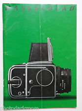 Hasselblad Camera System Sales Brochure Pamphlet Book - Green English - USED AC