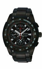 Seiko SNAD49 SNAD49P1 Mens Alarm Watch Chronograph Dual Time RRP $850.00