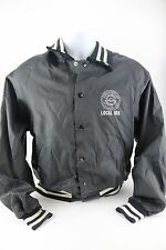 Vtg Union Work Jacket S Aluminum Brick and Glass Workers Local 105 AFL-CIO.CLC