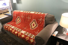 Wall tapestries decorative throw rugs native american throw woven Aztec design
