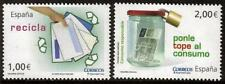SPAIN MNH 2010 RECYCLING CONSUMABLES SET OF 2