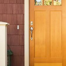 NEW Wireless Plug In Entrance  Door Bell  Chime Kit W 2-Push Button 2 Tunes