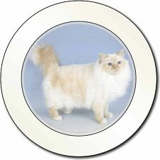 Red Birman Cat Car/Van Permit Holder/Tax Disc Gift, AC-92T
