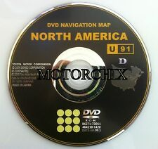 OEM TOYOTA NAVIGATION DVD VERSION 09.1 LEXUS GPS MAPS U91