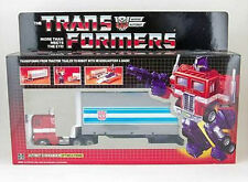 TRANSFORMERS AUTOBOT Optimus Prime tractor to Robot G1 Reissue new