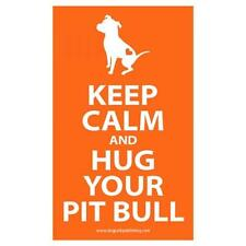 Pit Bull Keep Calm Bumper Stickerr (DPS001KC) - FREE SHIP