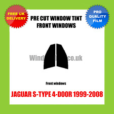 JAGUAR S-TYPE 4-DOOR 1999-2008 FRONT PRE CUT WINDOW TINT KIT
