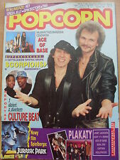 POPCORN 9/93 SCORPIONS,Tina Turner,OMD,Doro,Cut'N'Move,Green Jelly,Spin Doctors