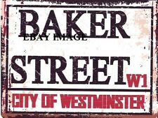 BAKER STREET METAL SIGN RETRO VINTAGE STYLE SMALL