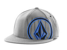 Volcom 951 210 Fitted Gray Flat Bill Brim Cap Hat Youth Against Establishment