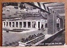 Recoaro Terme - fonti centrali - colonnato fonte Lelia [grande, b/n, viaggiata]