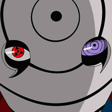 NARUTO Obito Uchiha Tobi Sharingan Rinnegan Eye 2pcs COSPLAY ACCESSORY NEW