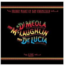 CD Al Di Meola John Mclaughlin Paco De Lucia- friday night in san francisco