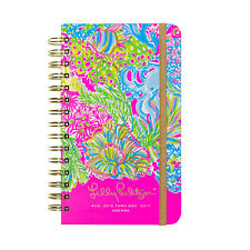 LILLY PULITZER - 2016-2017 Agenda - 17 month Planner- Lover's Coral - Medium