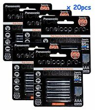 20pc Panasonic AAA NiMH 950mAh eneloop rechargeable battery Free post tracking