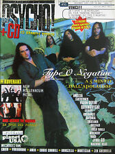 PSYCHO 31 1999 Type O Negative Kovenant RATM Rage Queensryche Videodrone Creed