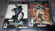 LOT : SoulCalibur II / 2 & III / 3 - SONY - PS2 - Complet - PAL FR