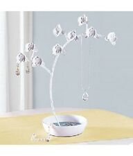 Whimsical Orchid Flowers Jewelry Tree Holder Stand Red Envelope Co NEW $59