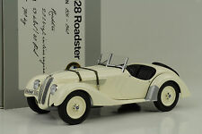 1936 BMW 328 Roadster creme 1:18 Minichamps Dealer Diecast
