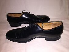 Church's Custom Grade Black Leather Derby Dress Shoes Size 13B
