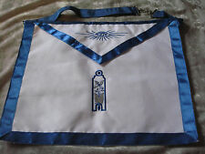 Junior Warden Masonic Officer Apron Freemason Blue Lodge Fraternity NEW!