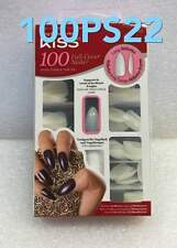 KISS 100 FULL-COVER NAILS 100PS22 LONG STILETTO HOLDS  POLISH & NAIL ART