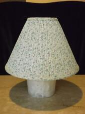 "Laura Ashley Bramblin Berries Pleated Lamp Shade14"" Wide 10"" Tall"