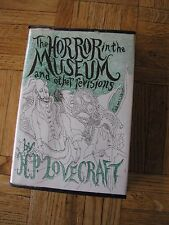 H P Lovecraft THE HORROR IN THE MUSEUM AND OTHER REVISIONS 1970 Limited Edition
