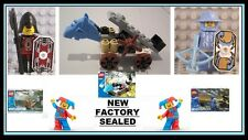 Lego kingdom Castle Knight minifig Lord Vladek 5998 JAYKO 5999 Catapult 5994 NEW