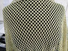 2 YD  FISH NET fabric 4 way good WEIGHT spandex NYLON LYCRA j2650