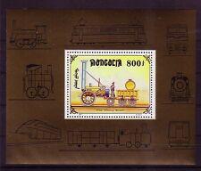Mongolei Michelnummer Block 268  postfrisch (intern: Eisenbahn 32 )