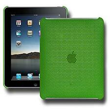 New Perforated Click On Hard Shell Case Cover Fit For Apple iPad 1st Gen - Green