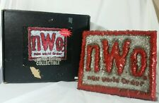 WCW NWO 3D Wrestling Sign Spencers Gifts WWE ECW Ltd. #1654 Rare Hall Nash w Box