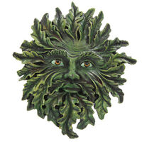 Green Man Wall Plaque -  Wiccan Pagan Garden Home Greenman. With box