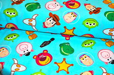 DISNEY TOYSTORY BUZZ WOODY USA designer fabric 0,5 m COTTON RARE