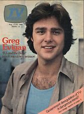 1980 CHICAGO TV WEEK~BJ & THE BEAR~GREG EVIGAN~CHIMPANZEE~SUPER CONDITION