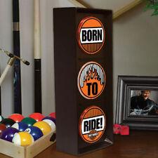 Harley-Davidson Born to Ride Flashing Accent Light Kid's Room Garage Wall Desk