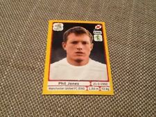 497 Phil Jones England Panini Euro 2012 PLATINUM EDITION sticker Manchester Utd