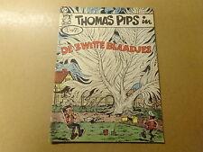 STRIP / THOMAS PIPS 24: DE 3 WITTE BLAADJES | 1ste druk