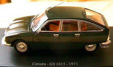 CITROEN GS 1015 1971 VERTE GREEN 1/43 UNIVERSAL HOBBIES 4 PORTES FOUR DOORS