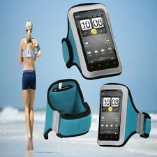 "Sport Armband Jogging Case Blue Protector for ThL W8 5"" Android Smart Phone"