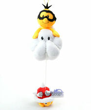 "New 14"" Super Mario Bros Jyugemu Lakitu Spiny Cute Soft Plush Doll Toy^MX991"