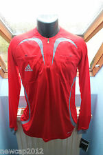 Maillot Arbitre Adidas Taille S - Manches Longues - Neuf - Rouge