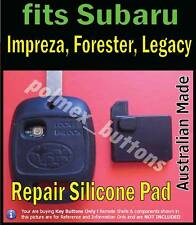 fits Subaru Forester Impreza integrated key & remote - 1 Repair key Buttons pad