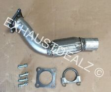 VW Volkswagen Golf repair flex pipe catalytic converter repair 2001 2002 2003